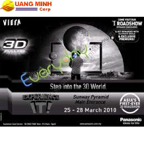 TIVI Plasma 3D Panasonic TH-P65VT20K-Full HD