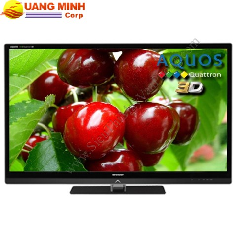 Sharp 3D LED Aquos LC-52LE830M